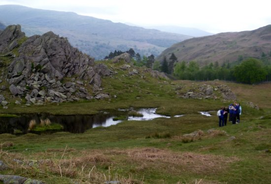 Ambleside, UK: Navigation course Lake District