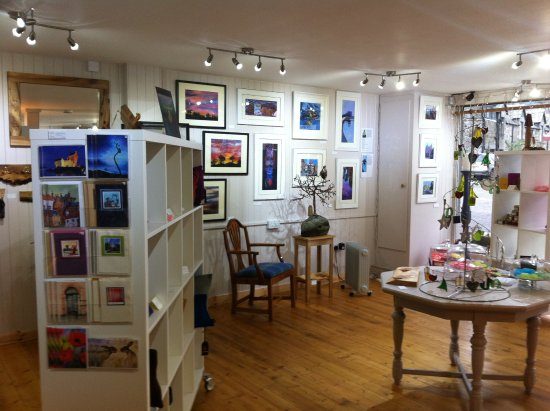 Aberfeldy, UK: Christmas exhibition 2015