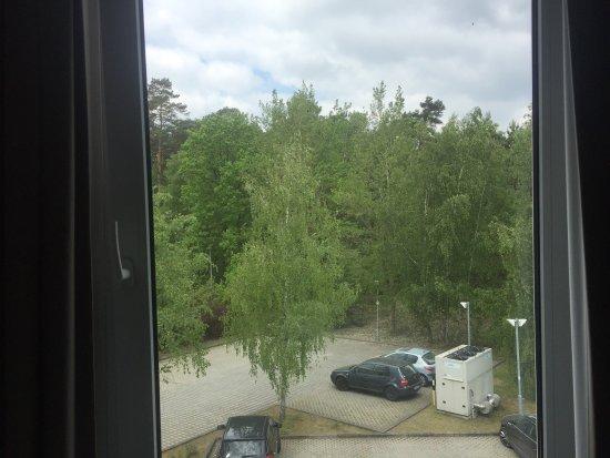 Kleinmachnow, Deutschland: Zimmeraussicht (zweiter Stock Zimmer 310)