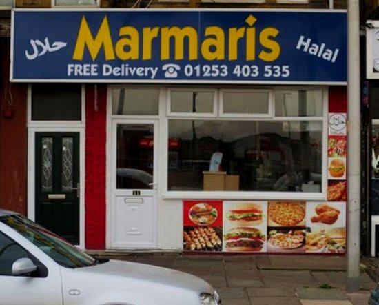 Marmaris Blackpool 11 12 Station Tce Menu Prices