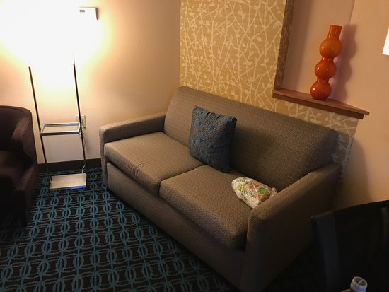 Cartersville, GA: Suite sitting area