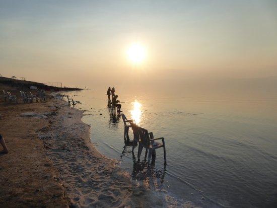 Dead Sea : 死海の有料ビーチ