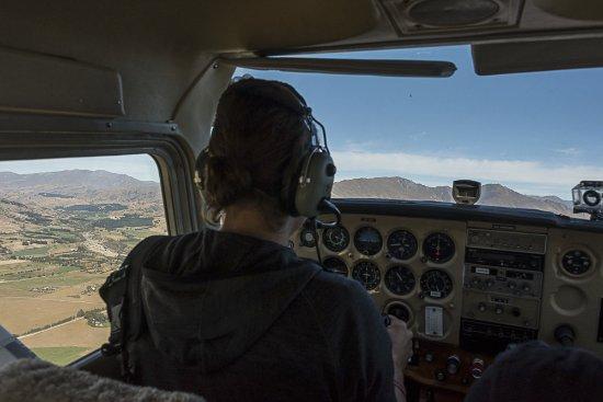Wanaka, New Zealand: Flying