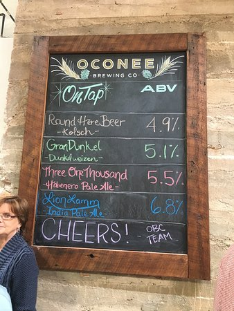 Greensboro, GA: Oconee Brewing Company