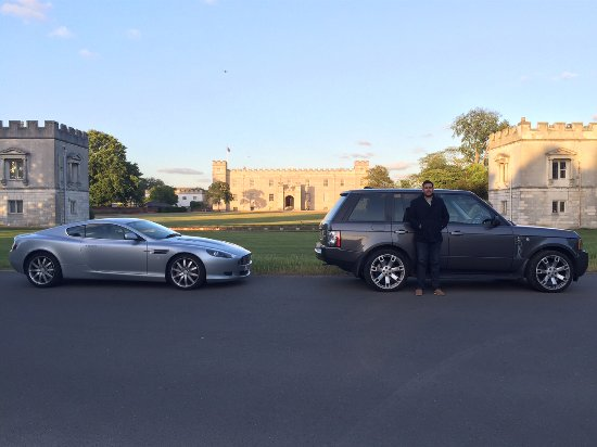 Syon House and Park: View from outside Syon House.