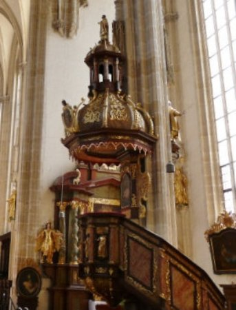 Krems an der Donau, Austria: the pulpit