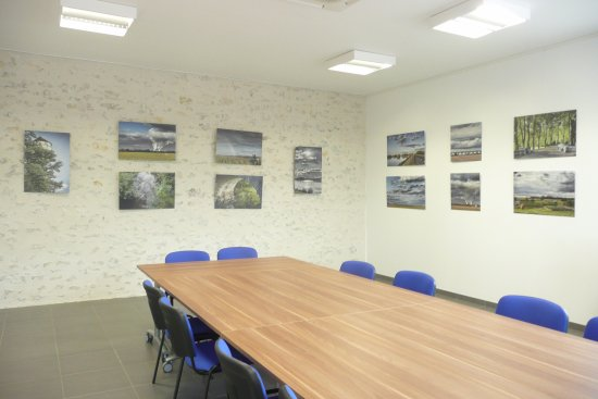 Mont-pres-Chambord, فرنسا: Salle d'expositions 