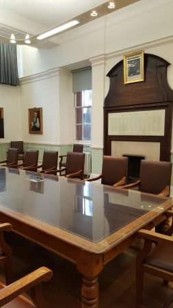 Worcester, UK: The historic Board Room