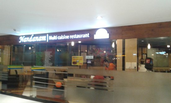 Muvattupuzha, Indien: Restaurant in the Mall