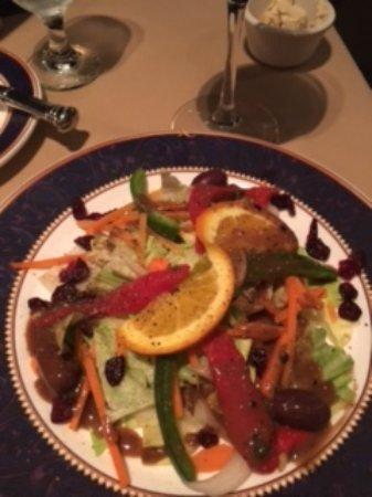Norwich, CT: Salad was a nice presentation