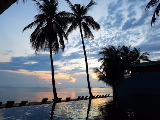 The COAST Resort - Koh Phangan: Couché de soleil