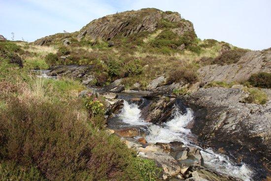 Blaenau Ffestiniog, UK: Waterfalls (within a 5 minute walk)