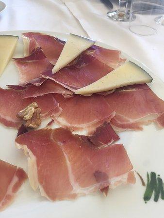 Fuente Alamo, Espanha: Jamon y queso
