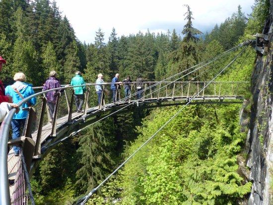 North Vancouver, Canadá: CliffWalk