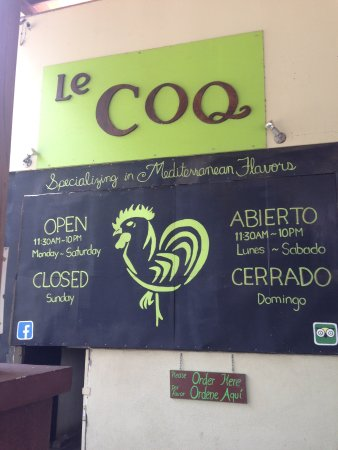 Le COQ Lebanese Health Food
