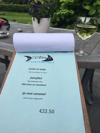 Loppersum, The Netherlands: Het weekmenu