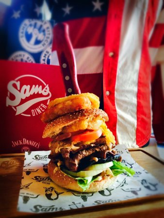 Par, UK: Trump burger with a Russian dressing!