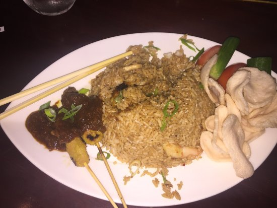 Yummy Nasi Goreng Picture Of The Noodle House Abu Dhabi