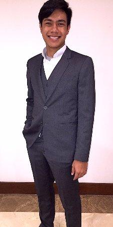 Three Piece Suit made at Genesis International Tailors