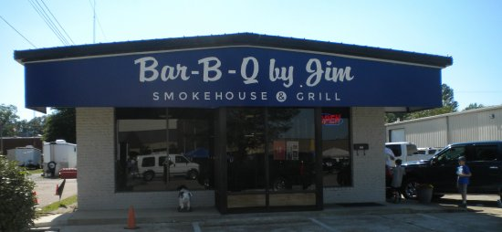 Bar-B-Q By Jim: The front