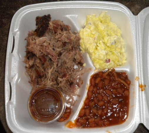 Bar-B-Q By Jim: Pulled pork