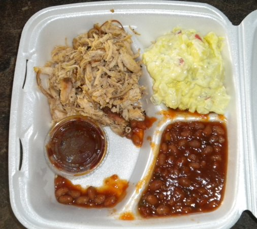 Bar-B-Q By Jim: Pulled chicken