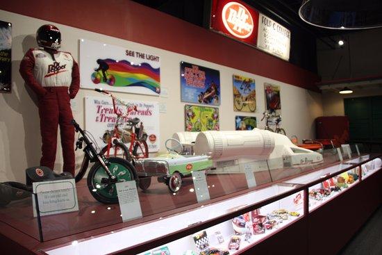 Ουάκο, Τέξας: Dr Pepper Museum - Dr Pepper on Wheels