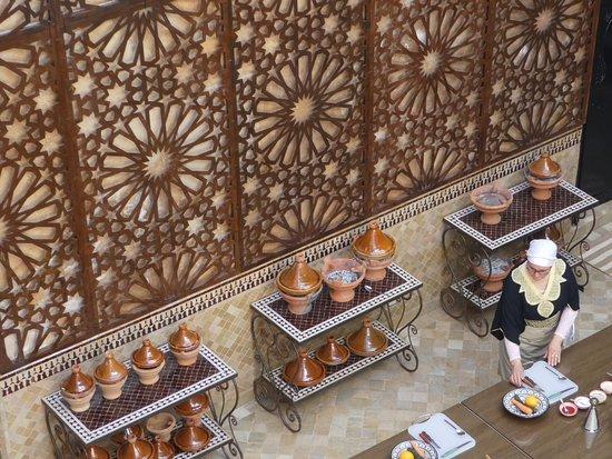 Riad Altair: Morrocon cooking school
