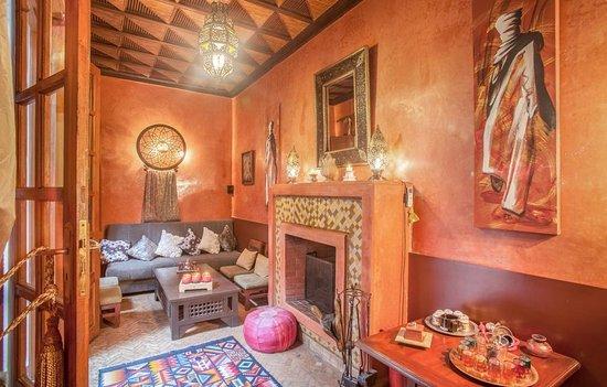 Riad sadaka hotel marrakech maroc voir les tarifs 58 for Salon zen rabat tarifs