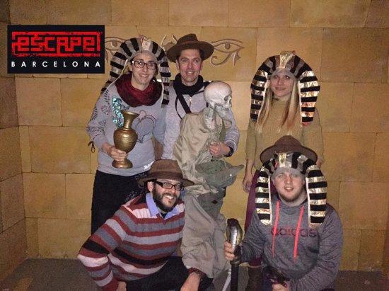 La Maldicion Del Faraon Room Escape