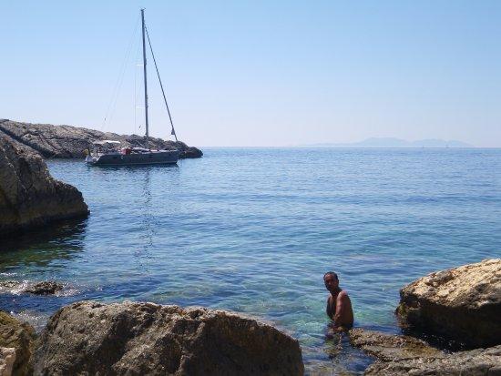 Hvar Island, Croatia: La baia