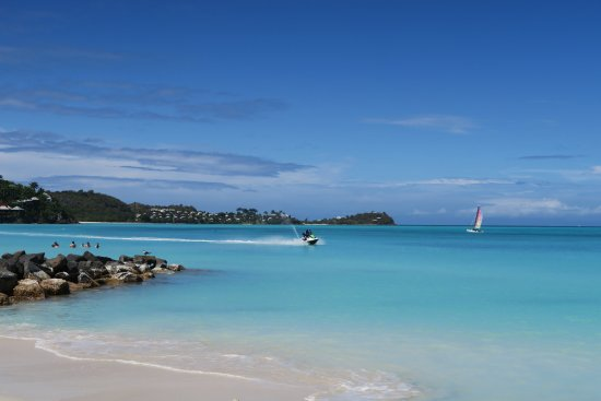 Saint Mary Parish, Antigua : Jet skiing and wind surfing