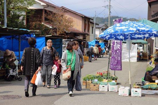 Morning Market in Masuda