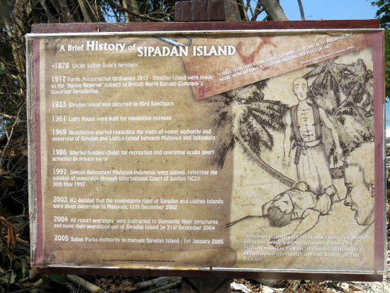 Semporna, Malesia: sipadan island töténete