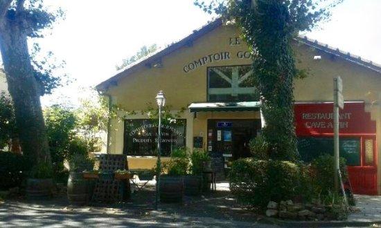 Mirepoix, Frankrike: façade du comptoir Gourmand