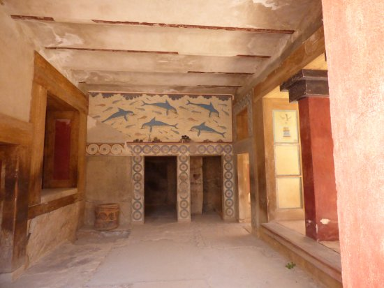 Knossos Archaeological Site: Interior of queen's chamber