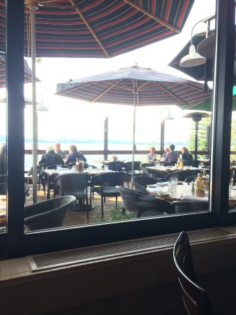 Carnelian Bay, Californien: Also patio dining.