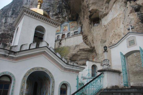 Bakhchisaray: Бахчисарайский Свято-Успенский мужской монастырь