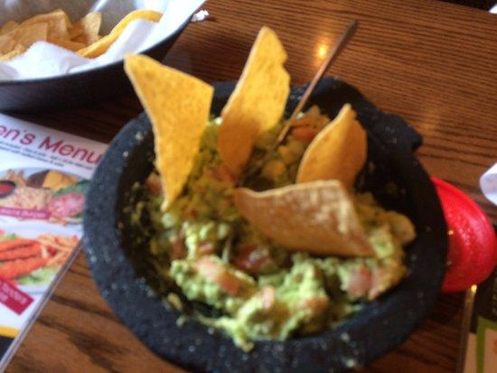 Livonia, MI: Fresh made guacamole