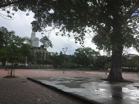 Girardot, Kolumbien: En día nublado
