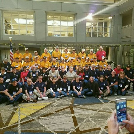 Фэрфакс, Вирджиния: Honor Flight Northeast Tennessee group picture