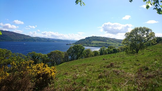 Banchory, UK: Day 1 view of Loch Ness