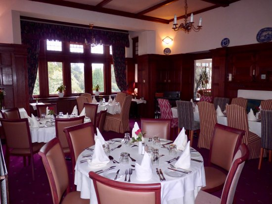 Northfield Hotel: the main dining room