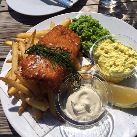 Donso, Sweden: Fish & Chips