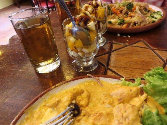 Ayahuasca - Arte Cafe Conocimiento: Ají de gallina