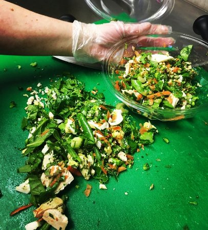 Dungarvan, Ireland: Crunch - Chopped Salad