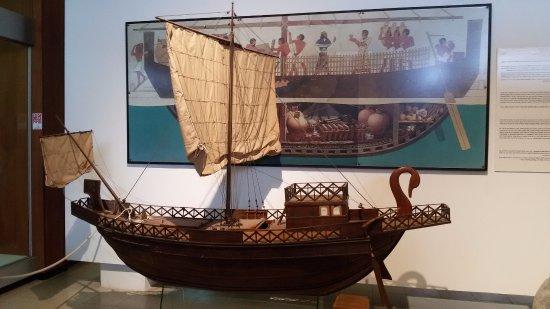 National Maritime Museum : An Egyptian ship