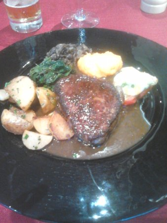 Le Blanc, France: filet de boeuf