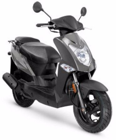 our scooters kymco agility 50cc perfect for 2 people foto de venice scooter rental lido di. Black Bedroom Furniture Sets. Home Design Ideas