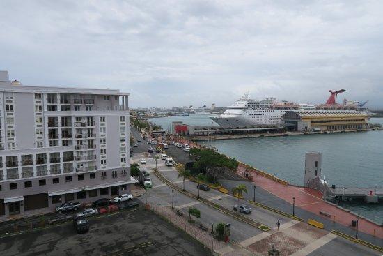 Sheraton Old San Juan Hotel: View from Balcony